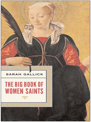 cover image of The Big Book of Women Saints