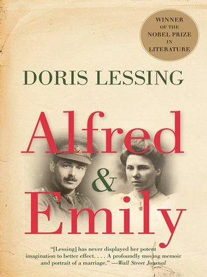 cover image of Alfred & Emily