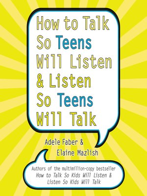 cover image of How to Talk So Teens Will Listen and Listen So Teens Will Talk