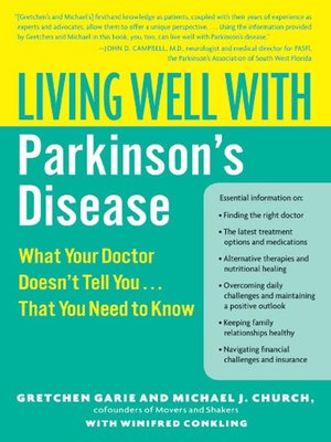 cover image of Living Well with Parkinson's Disease