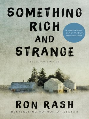 cover image of Something Rich and Strange