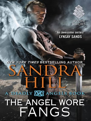 cover image of The Angel Wore Fangs