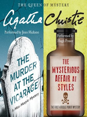 cover image of Murder at the Vicarage & The Mysterious Affair at Styles