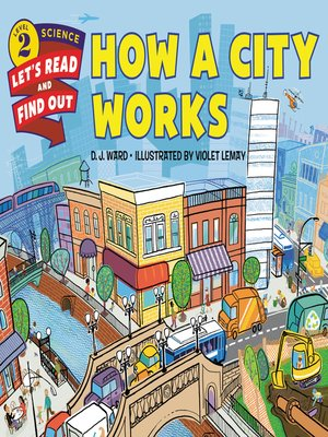 cover image of How a City Works
