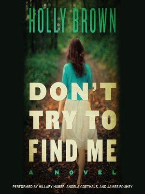 cover image of Don't Try to Find Me