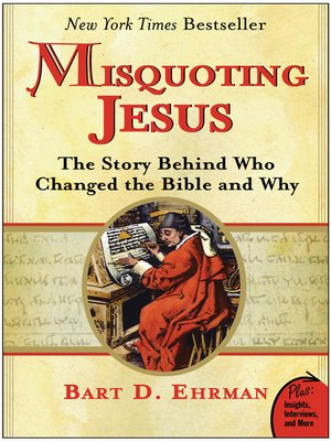 cover image of Misquoting Jesus