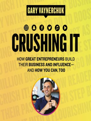 cover image of Crushing It!