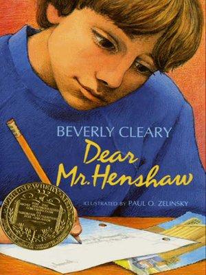Image result for dear mr henshaw