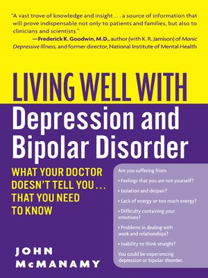 cover image of Living Well with Depression and Bipolar Disorder