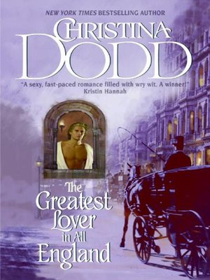 cover image of The Greatest Lover in All England
