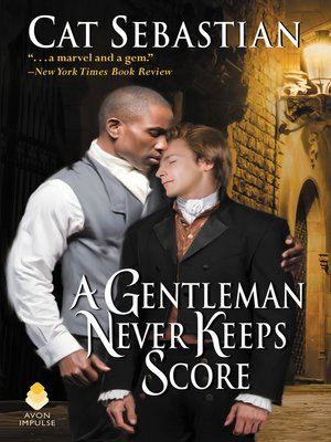 cover image of A Gentleman Never Keeps Score