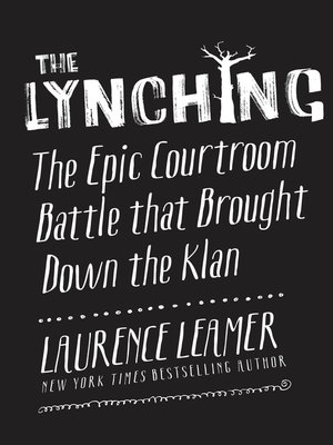 cover image of The Lynching