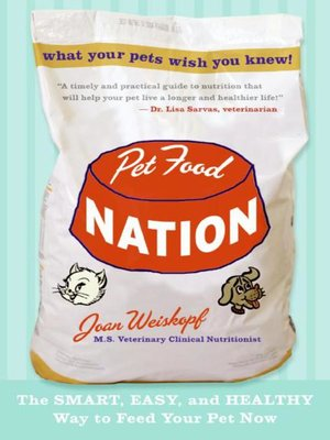 cover image of Pet Food Nation