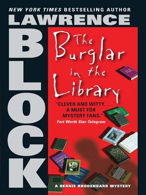 cover image of The Burglar in the Library