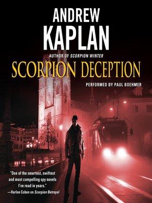 cover image of Scorpion Deception