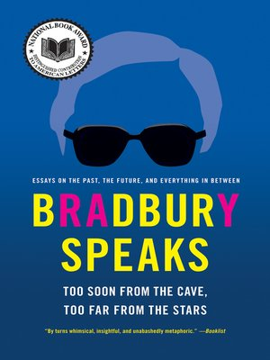 cover image of Bradbury Speaks