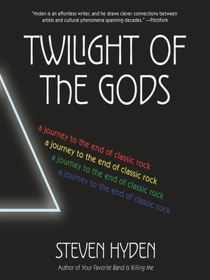 cover image of Twilight of the Gods