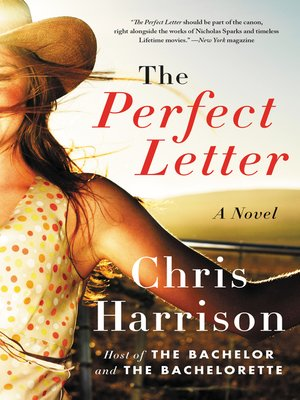 cover image of The Perfect Letter