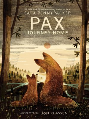 cover image of Pax, Journey Home