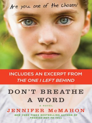 cover image of Don't Breathe a Word with a Special Excerpt