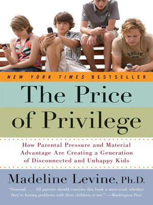 cover image of The Price of Privilege