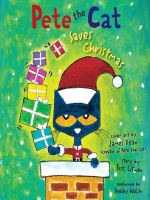 cover image of Pete the Cat Saves Christmas