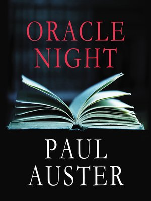 cover image of Oracle Nights