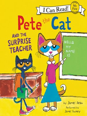 cover image of Pete the Cat and the Surprise Teacher