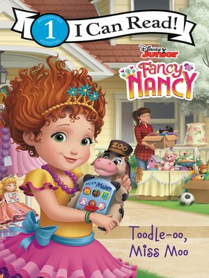 cover image of Disney Junior Fancy Nancy