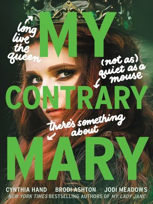 cover image of My Contrary Mary