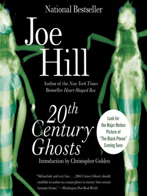 cover image of 20th Century Ghosts