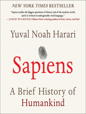cover image of Sapiens