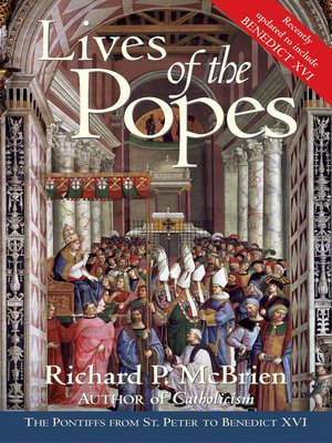 cover image of Lives of the Popes- Reissue