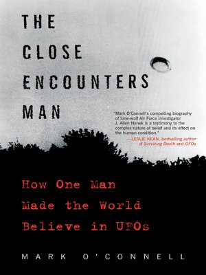 cover image of The Close Encounters Man