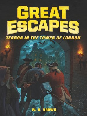 cover image of Terror in the Tower of London