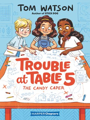 cover image of Trouble at Table 5 #1