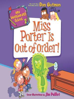 cover image of My Weirder-est School #2
