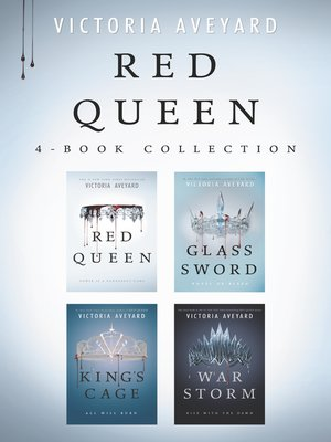 cover image of Red Queen 4-Book Collection