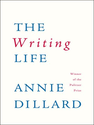 cover image of The Writing Life