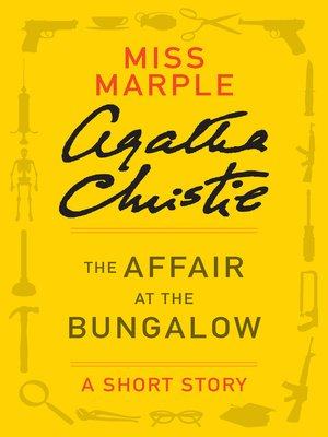 cover image of The Affair at the Bungalow