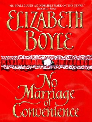 cover image of No Marriage of Convenience
