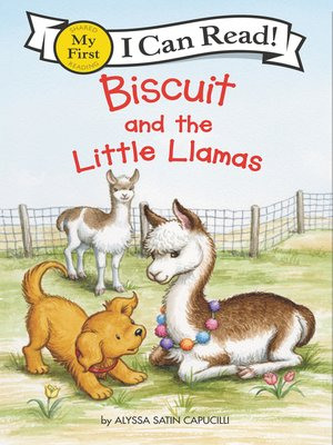 cover image of Biscuit and the Little Llamas