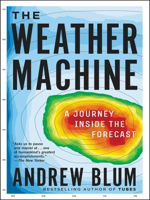 cover image of The Weather Machine