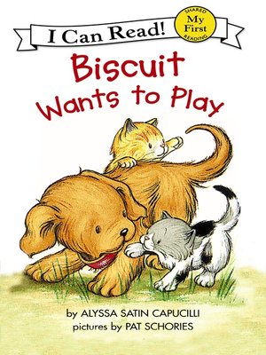 cover image of Biscuit Wants to Play