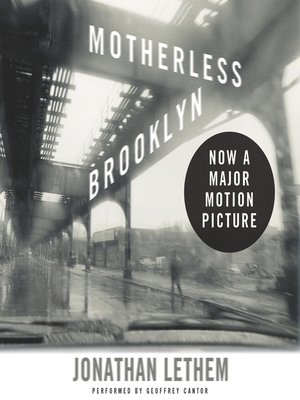 cover image of Motherless Brooklyn