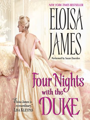 cover image of Four Nights with the Duke