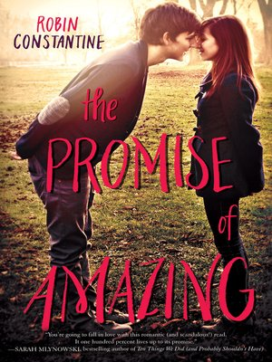 cover image of The Promise of Amazing
