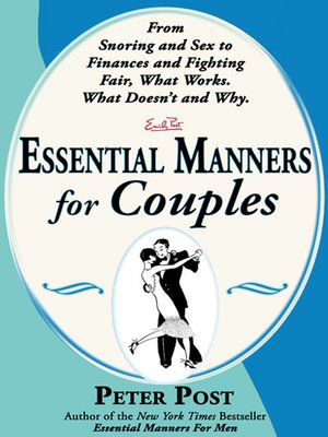 cover image of Essential Manners for Couples