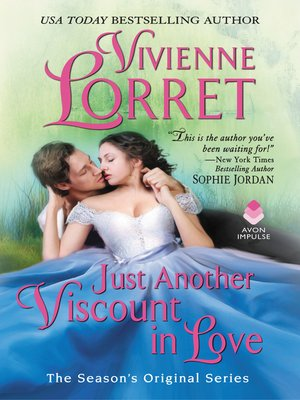 cover image of Just Another Viscount in Love