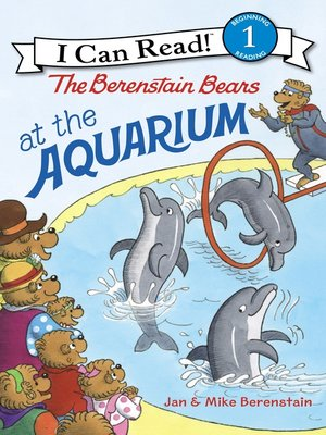 cover image of The Berenstain Bears at the Aquarium